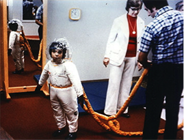 David in suit designed by NASA